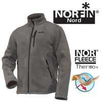Куртка флисовая Norfin NORTH gray (476104-XL)