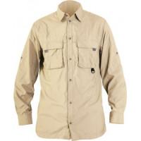 Рубашка Norfin COOL LONG SLEEVE бежевая (651001-S)
