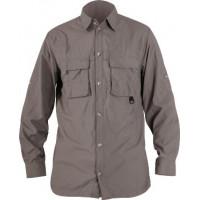 Рубашка Norfin COOL LONG SLEEVE серая (651106-XXXL)