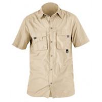 Рубашка с короткими рукавами Norfin COOL бежевая (652101-S)