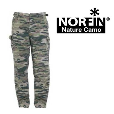 Штаны Norfin NATURE camo (642001-S)