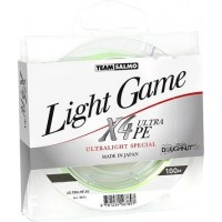 Шнур Team Salmo LIGHT GAME X4 ULTRA PE 100 м 0.042 мм (5014-004)