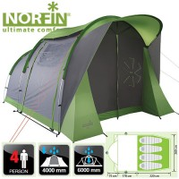 Палатка Norfin ASP 4 ALU (NF-10304)