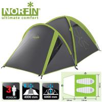 Палатка Norfin CARP 2+1 ALU (NF-10302)