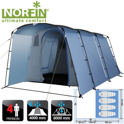 Палатка Norfin MALMO 4 (NFL-10207)