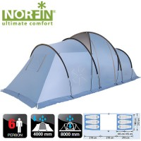 Палатка Norfin MOSS 6 (NFL-10210)