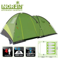 Палатка Norfin POLLAN 4 (NF-10203)