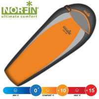Спальный мешок Norfin LIGHT 200 NS R (NS-30104)