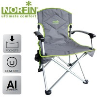 Кресло складное алюминиевое Norfin ORIVESI (NF-20207)